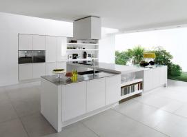 Reforma cocina de diseño, en vivienda unifamiliar en Club de Golf El Escorpión (Valencia)
